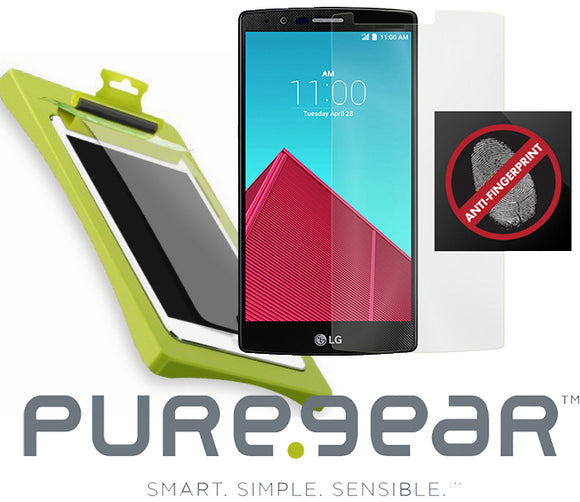 PUREGEAR PURETEK ROLL-ON SCREEN PROTECTOR KIT TRAY FOR LG G4 (ANTI-FINGERPRINT)