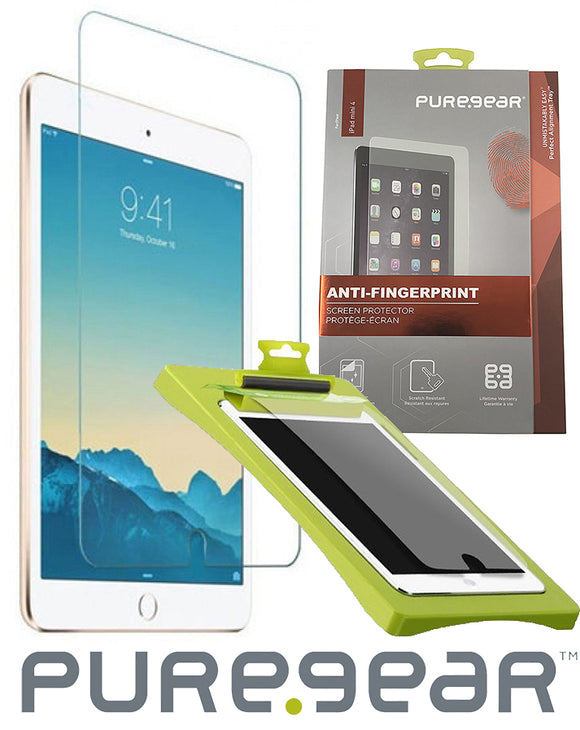 PUREGEAR PURETEK SCREEN PROTECTOR ANTI-FINGERPRINT FOR APPLE iPAD MINI 4