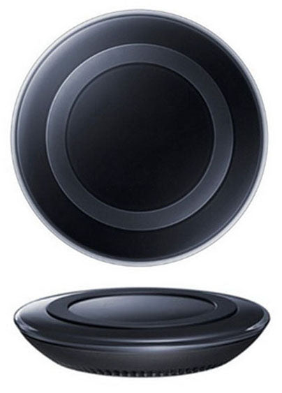QI FAST CHARGE BLACK WIRELESS CHARGING PAD DOCK FOR Qi EQUIPPED CELL PHONE