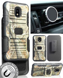 Camo Tree Case Clip Magnet Mount for Galaxy Express Prime 3, Amp Prime 3, Sol 3
