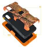 Rugged Case Stand and Belt Clip Holster for Samsung Galaxy XCover Pro (SM-G715)