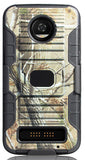 Camo Tree Real Woods Case Cover + Belt Clip for Motorola Moto Z3, Z3 Play XT1929