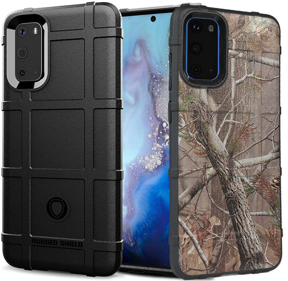 Special Ops Tactical Rugged Shield Case Flex Matte Cover for Samsung Galaxy S20