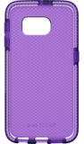 Tech21 PURPLE EVO CHECK ANTI-SHOCK CASE TPU COVER FOR SAMSUNG GALAXY S6