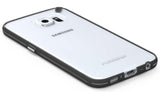 PUREGEAR SLIM SHELL BLACK/CLEAR CASE HARD COVER FOR SAMSUNG GALAXY S6 SM-G920