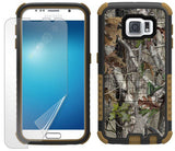 AUTUMN LEAF TREE CAMO TRI-SHIELD CASE BELT CLIP HOLSTER FOR SAMSUNG GALAXY S6