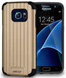 GOLD MATTE METALLIC SLIM DUO-SHIELD CASE RUGGED COVER FOR SAMSUNG GALAXY S7