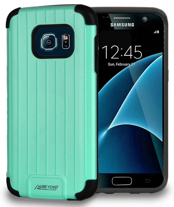 MINT MATTE SLIM DUO-SHIELD CASE TPU HARD RUGGED COVER FOR SAMSUNG GALAXY S7