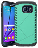 TEAL MINT TOUGH SLIM ARMOR SHIELD TPU CASE COVER FOR SAMSUNG GALAXY S7 EDGE