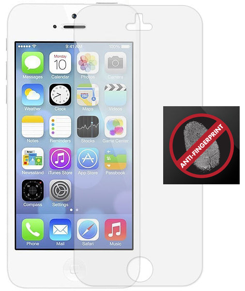 3 ANTI-GLARE FINGERPRINT LCD SCREEN PROTECTOR SCRATCH SAVER FOR APPLE iPHONE 5c