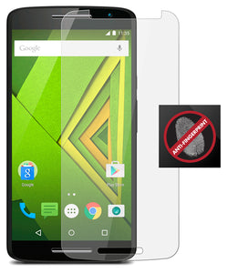 2-PACK ANTI GLARE FINGERPRINT SCREEN PROTECTOR SAVER FOR MOTOROLA DROID MAXX 2