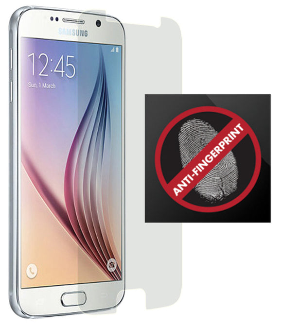 2 ANTI-GLARE FINGERPRINT SCREEN PROTECTOR SCRATCH SAVER FOR SAMSUNG GALAXY S6