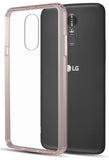 Clear Transparent Case Hybrid Cover for LG Q Stylus, Stylo 4, Stylus 4