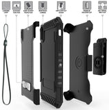 Tri-Shield Rugged Case Cover + Belt Clip Holster Strap for Apple iPhone XR 6.1""
