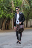 Marco - Old school Leather Messenger Bag