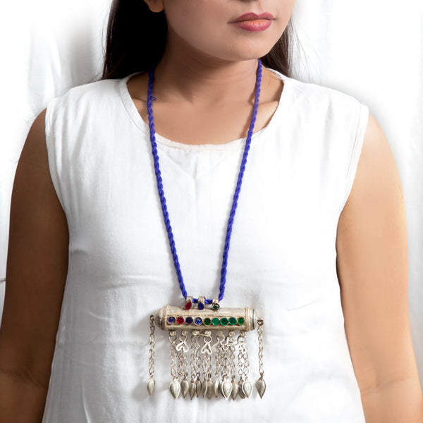 Tribal Afghani Amulet Pendant Necklace