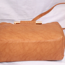 Brown Top Handle Bag