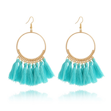 Load image into Gallery viewer, Elegant Bohemia Tassel Earrings