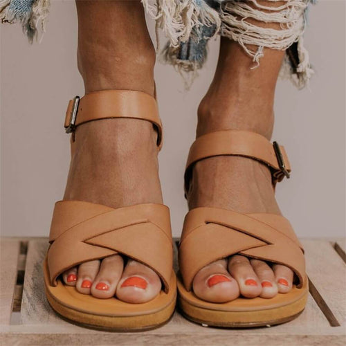 Fashion   Versatile Wedge Sandals