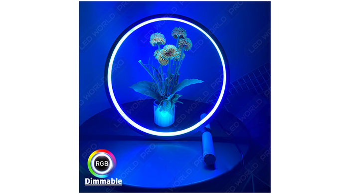 Lampe d'ambiance LED - RGBW - Série CIRCLE