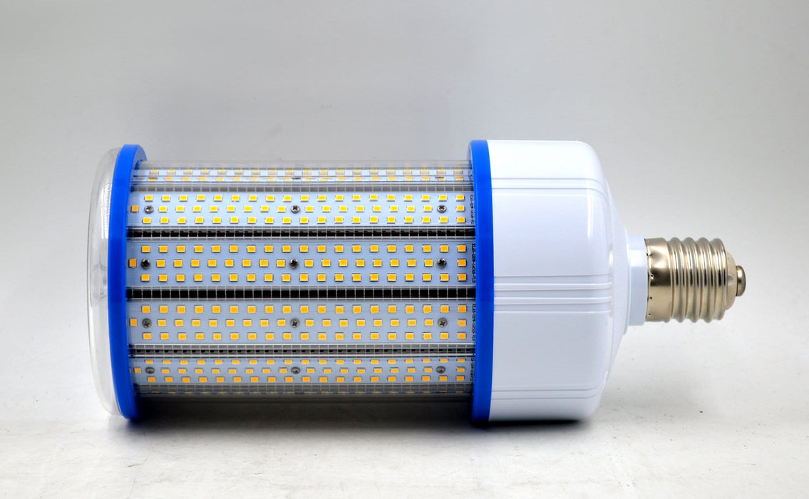 Ampoule LED E40 - 120 Watts - 15 600  lumens - 130 lumens/Watt - 130 x L300 mm - Angle 360° - IP44