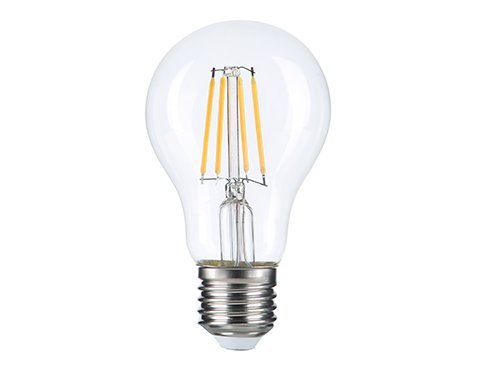 Lot de 10 Ampoules LED E27 A60 - 12 Watts - Filament - 1500 Lumens - 125 Lumens/Watt - 65 x 126 mm - Angle 360° - IP20
