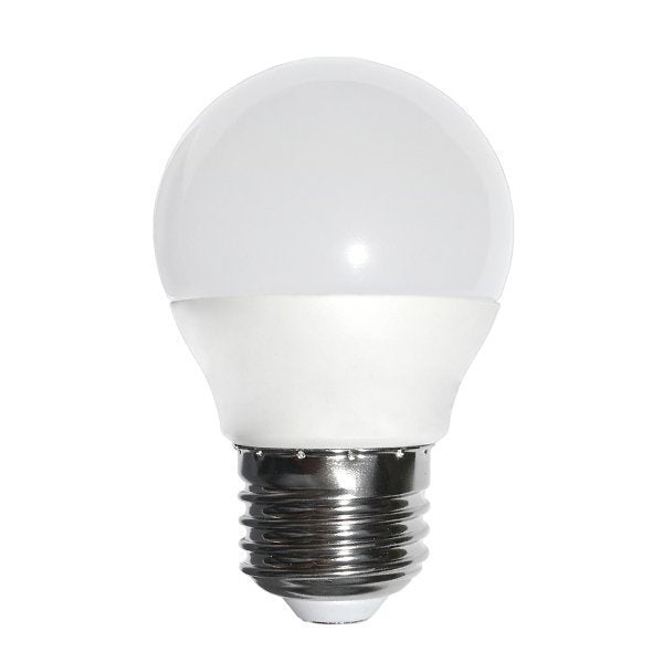 Lot de 10 Ampoules LED E27 - 6 Watts - 400 Lumens - 66 Lumens/Watt - 97 x 50 mm - Angle 270° - IP20 - Garantie 5 ans