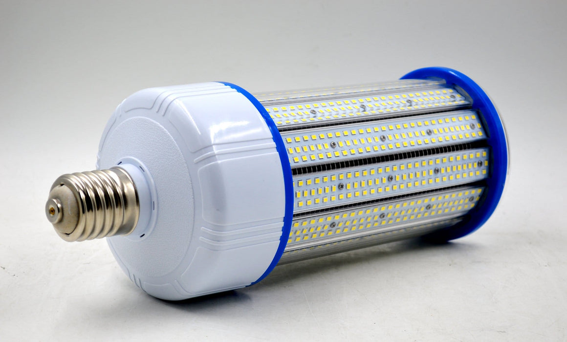 Ampoule LED E40 - 200 Watts - 26 000  lumens - 130 lumens/Watt - 130 x L330 mm - Angle 360° - IP44