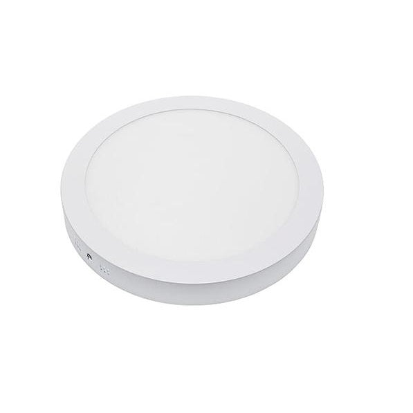Dalle de surface ronde - 24 Watts - 300 x 38 mm - Angle 120° - IP21 - Transformateur inclus