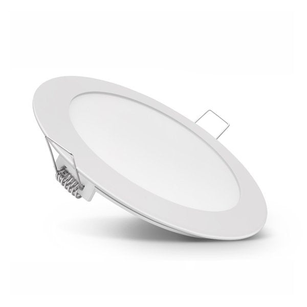 Dalle ultra-plate ronde - 24 Watts - 299 x 25 mm - Découpe 285 mm - Angle 120° - IP20 - Transformateur inclus - Option Dimmable