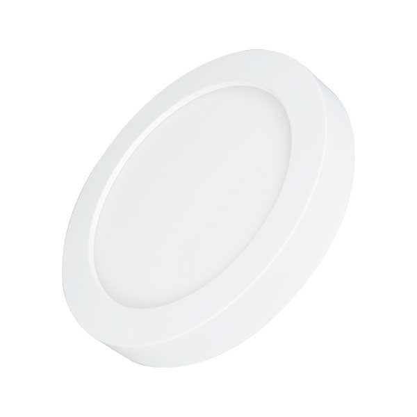 Carton de 20x Dalles de surface - Ronde - CCT - 18 Watts - 1550 Lumens - 85 Lumens/watt - ф226 x 35 mm - Angle 100° - IP40/IP20 - Transformateur inclus - Couleur changeante