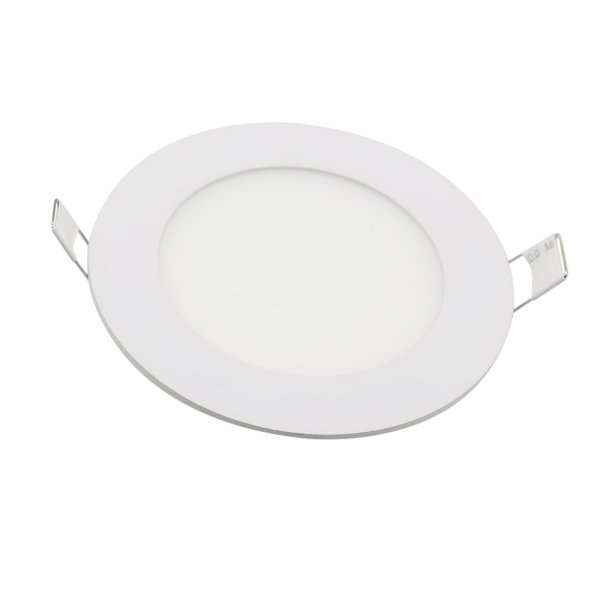 Mini-dalle LED - ronde - 24 Watts - 2010 Lumens - 84 Lumens/Watt - Dimensions 300 x 13 mm - Découpe 270 mm - Angle 120° - IP20