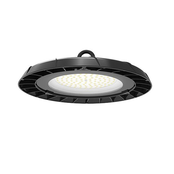 Pack de 5x Lampes industrielles UFO - Série LIGHT - 100 Watts - 8500 Lumens - 85 Lumens/Watt - Angle 90° / 120° au choix - 260 x 88 mm - IP65
