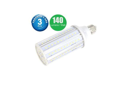 Ampoule LED E27 / E40 au choix - 25 Watts - 3500  lumens - 140 lumens/Watt - 60 x 175 mm - Angle 360° - IP44
