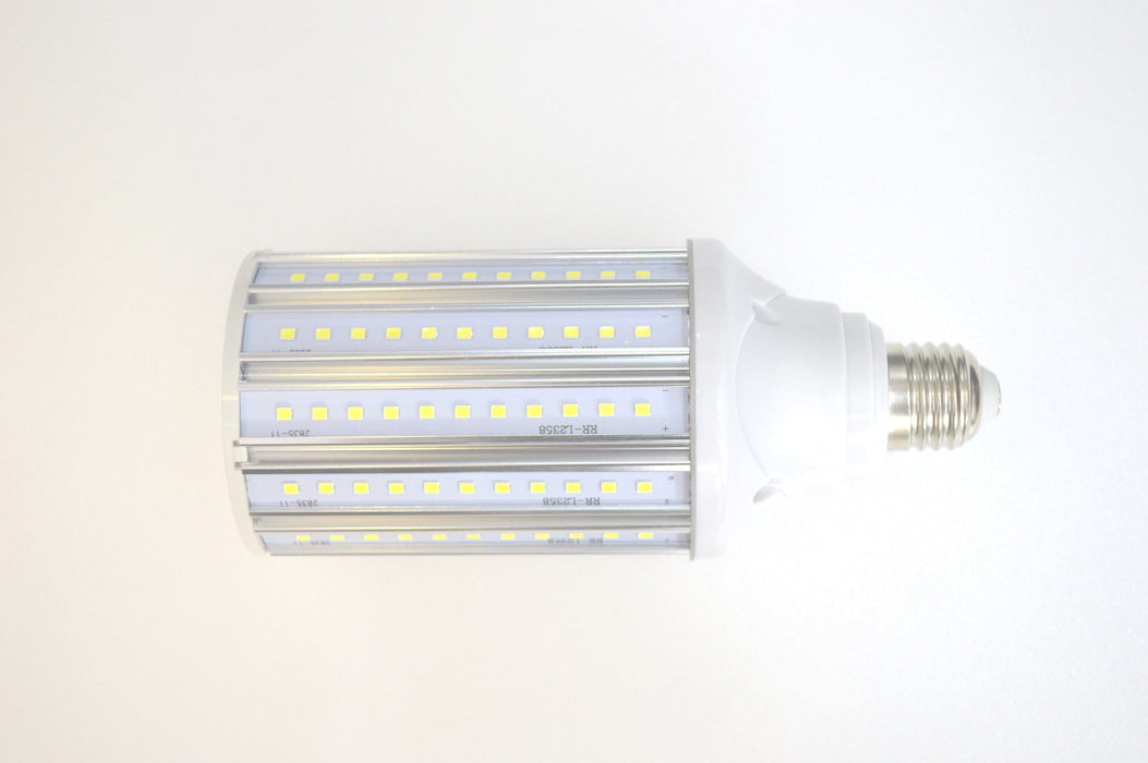 Ampoule LED E27 / E40 au choix - 35 Watts - 4900  lumens - 140 lumens/Watt - 75 x 195 mm - Angle 360° - IP44