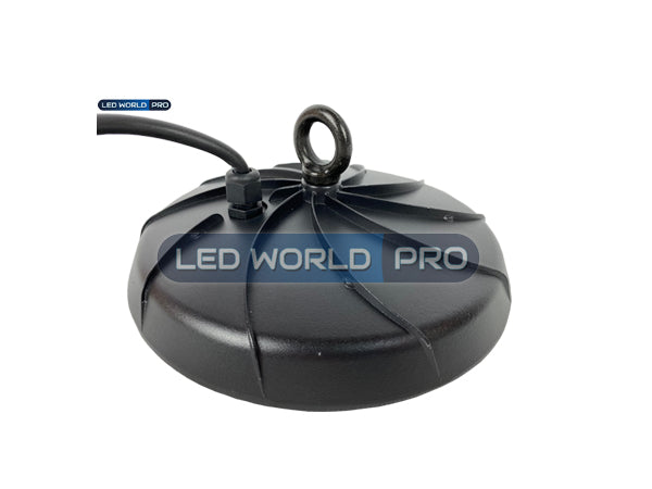 Lampe industrielle UFO - Série LIGHT - 100 Watts - 8500 Lumens - 85 Lumens/Watt - Angle 120° - 260 x 88 mm - IP65