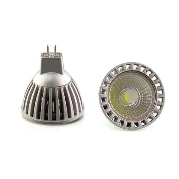 Lot de 10 Ampoules LED MR16 - 6 Watts - 50 x 53 mm - 50 degrés