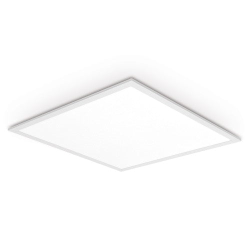 Dalle LED carrée 60 x 60 - 50 Watts - 3600 Lumens - 72 Lumens/watt - 595 x 595 x 9 mm - Angle 120° - IP40