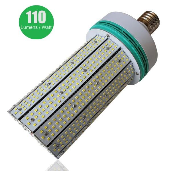 Ampoule LED E40 - 120 Watts - 13 200 lumens - 110 lumens/Watt - IP20 - 128 x 292 mm - Angle 360°