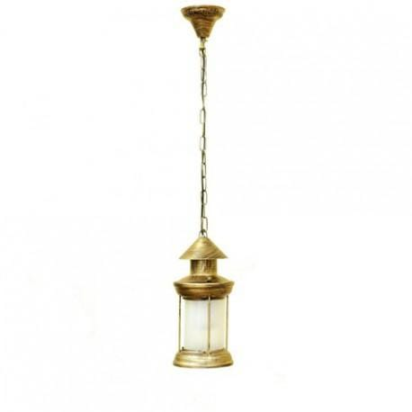 Lustre Lanterne Flamme LED Bronze E27 - 5 Watts - IP20