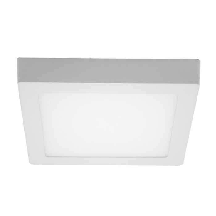 Dalle de surface carré - 18 Watts - 220 x 220 x 38 mm - Angle 120° - IP21 - Transformateur inclus