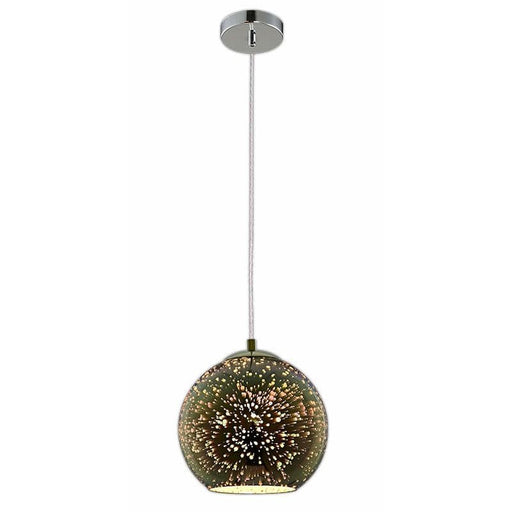 Lustre Motif 3D Feu d'Artifice E27 - 40 Watts - D180 x H160 mm