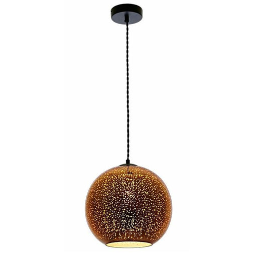 Lustre Motif 3D Feu d'Artifice E27 - 40 Watts - D300 x H275 mm