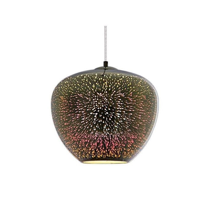Lustre Motif 3D Feu d'Artifice E27 - 40 Watts - D400 x H345 mm