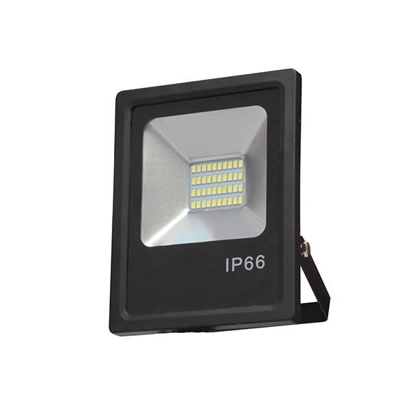 Projecteurs LED - 30 Watts - 2400 lumens - 224 x 184 x 52 mm - Angle 150° - IP66
