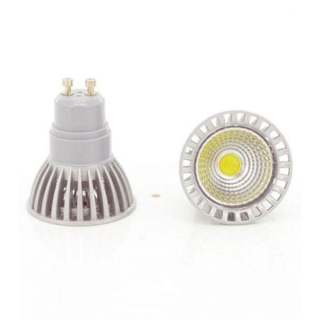 Lot de 10 Ampoules LED GU10 - 3 Watts - 50 x 62 mm - 50 degrés
