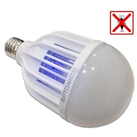 Ampoule LED E27  - 8 Watts + 2 Watts - 640 Lumens - 80 Lumens/Watt - 95 x 172 mm - Angle 180° - IP20
