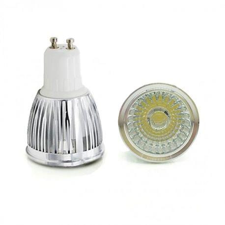 Ampoule LED COB GU10 - 7 Watts - 560 Lumens - 80 Lumens/Watt - 50 x 95 mm - 120 degrés - IP20 - Dimmable