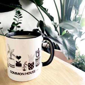 POTTED PLANTS COFFEE MUG | COFFEE CUP