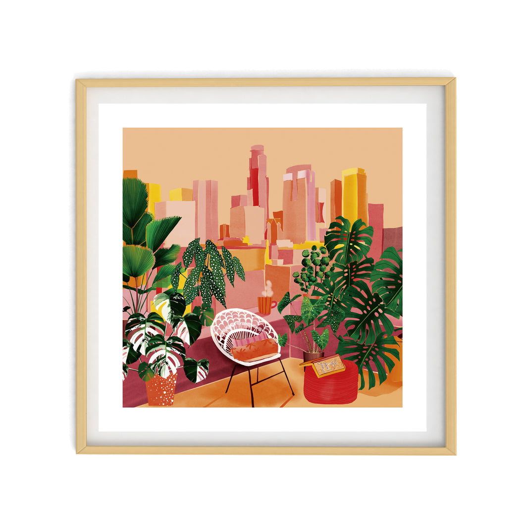 URBAN JUNGLE Illustration | Art Print Poster